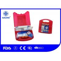 Cheap Waterproof Red OSHA ANSI First Aid Kit For Commercial Kitchens OEM Avaliable for sale