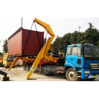 Cheap TITAN 37 ton 20ft Sidelifter Container Side Loader Trailer for UAE for sale