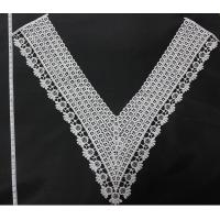 Cheap Neck Lace Embroidery Collar Clothing Motif  Milk Poly White for Clothing for sale