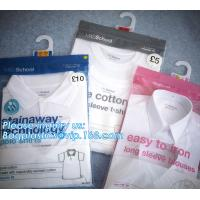 Buy cheap HANGER HOOK BAGS,GARMENT BOTTON CLOSURE BAGS, EVA FROST DRAWSTRING BAGS, VINYL from wholesalers