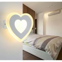 Cheap Matt white Acrylic LED wall lights /inside led wall lamps for hotel rooms for sale