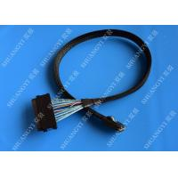 Cheap Mini Serial Attached SCSI Cable SAS SFF-8087 36 Pin To SAS SFF-8484 32 Pin Cable 0.5 M for sale
