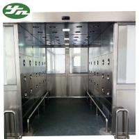 High Performance Cleanroom Air Shower Tunnel With Automatic Sliding Door