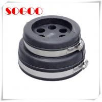 China EPDM Rubber 4 Cable Entry Boots IP65 Stainless Steel Seal One Piece Design on sale