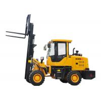 Cheap Small All Terrain Electric Forklift Truck 920 FL , Forklift Front End Loader for sale