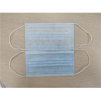 Cheap 3 Ply / 4 Ply Personal Non Woven Disposable Mask Anti Splash For Civil Use for sale