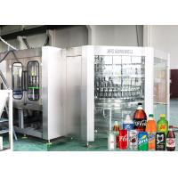 China Auto Carbonated Filling Machine Bottled Cola Soft Drink Production Line on sale