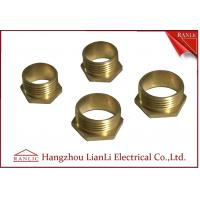 Cheap 20mm 25mm Brass Male Bush Short & Long For Gi Conduit Thread BS4568 for sale