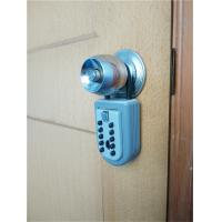 Cheap Weatherproof Push Button Key Lock Box for Door / Real Estate Lockbox Digital Type for sale
