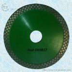 Cheap Continuous Rim Diamond Circular Saw Blade - DSSB17 for sale