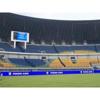 Cheap Die - Casting Stadium Perimeter Led Display , 5V 40 A Football Advertising Boards for sale