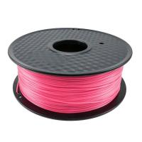 Buy cheap Elastic Fluorescent Pink PLA 3d Printer Filament 1.75mm Diameter Acrylic from wholesalers