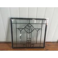 China Artistic Tempered Safety Glass IGCC / IGMA Certification Steel Frame on sale