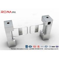 Cheap RFID Biometric Swing Barrier Gate , Bank Bridge Access Control Turnstile for sale