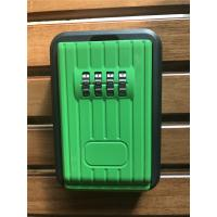 Cheap Waterproof Outdoor Combination Lockbox For Keys Black And Green for sale