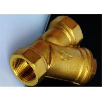 Cheap Precision Brass Investment Casting , Water Filter Brass Water Valve Class CT4~CT7 for sale