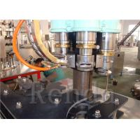 Cheap Electric 110V Can Filling Machine for Juice , Can Packing Machine for Gas Filling Machine for sale
