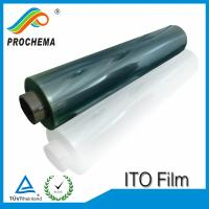 Cheap 5-7ohm Transparent Conductive ITO Film for sale
