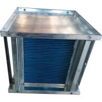 Quality small to large airflow counterflow hydrophilic aluminium foil recuperator core wholesale