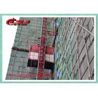 Cheap 1000kg Vertical Construction Elevator Two Cage , Construction Material Lifting Hoist Lift wholesale