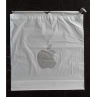 Cheap Custom Apple Iphone Classic Drawstring Plastic Bags with PP Rope for sale