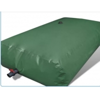 Buy cheap 4500L Collapsible PVC Pillow Storage Tarpaulin Water Tank from wholesalers