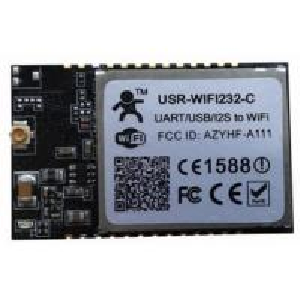 Cheap Wifi i2s voice module-UART USB I2S GPIO to WiFi 802.11 b/g/n SMT module for sale