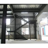 Cheap Custom Lightweight Structural Steel Stairs Compression Resistance Rotate 180 Degrees wholesale