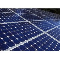 Cheap 120 V Photovoltaic Silicon Solar Panels Impact Resistance Long Life Span for sale