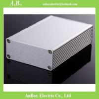 Cheap 100x66x27mm 6063 t5 extruded aluminum box for instrument  wholesale and retail for sale