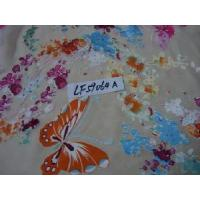 Cheap Floral Print Silk Fabric for sale