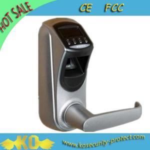 Cheap Weatherproof Robust Housing Fingerprint Digital Door Lock with Visual OLED Display KO-ZL700 for sale