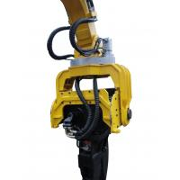 Buy cheap Excavator hydraulic sheet pile vibro hammer for 20 ton excavator from wholesalers