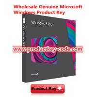 Buy cheap Full Version Windows 8 Product Key Code , Genuine Windows 8 Professional Activation Key FPP Download from Wholesalers