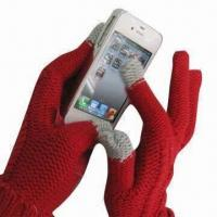 Cheap Touch Gloves for iPhone , Measures 24x9cm for sale