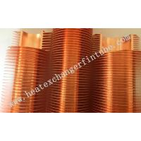 Cheap B111 C12200 OD 1'' Tube Carbon Steel / Copper Extruded Finned Tubes wholesale