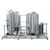 Cheap 5BBL Pub Brewing Systems SS304 Steam Heating In Beer Production Line Energy Saving for sale