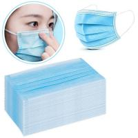 Cheap High Breathability Dispsoable Isolation Face Mask / Earloop Procedure Masks for sale