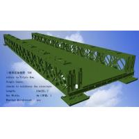 Cheap Corrosion Resistance Modular Steel Bridges TS Triple Single Type Bailey Bridge for sale