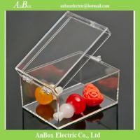 Cheap Poly Carbonate rectangle transparent gift box plastic transparent box with lid for packing for sale