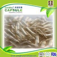 Cheap Size 00 two piece clear gelatin capsules 100% BSE/TSE free empty pill capsules for sale