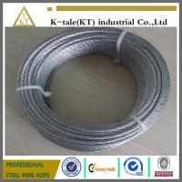 Cheap promotional price suitable for Marine Hardware 304 stainless steel wire rope for sale