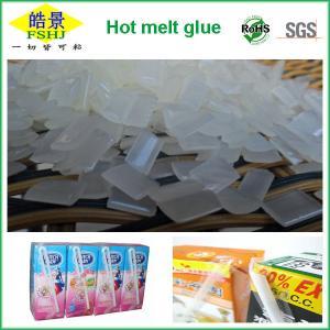 Cheap EVA Resin Hot Melt Adhesive / Book Binding Adhesive Glue For Straw Drinking Box wholesale