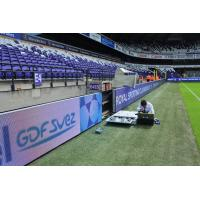 Cheap 1 / 2 Scaning Football Pitch Advertising Boards Multi - Functional Angle Adjustable for sale