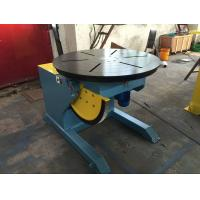 Cheap Motorized Rotating / Tilting Rotary Welding Turning Table For 2 Ton Rated Load Cap wholesale