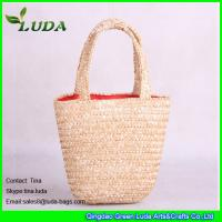 Cheap Small Kids  Wheat Straw Bags for sale