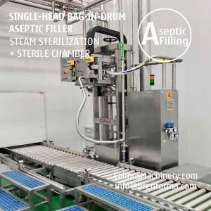 Cheap 200-220 Litre BiD Sauce Puree Filler Equipment Bag in Drum Aseptic Filling Machine for sale
