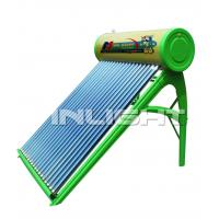 300L galvanized steel no pressure vacuum tube solar water heater
