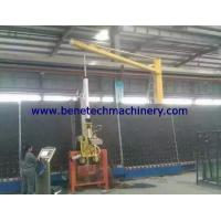 Cheap Glass Slewing Crane with suction cup for IG line for sale