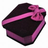 Cheap Cardboard Gift Box, Cosmetic Case, Offset or Silkscreen Printing for sale